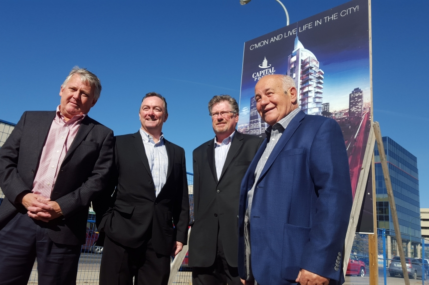 Construction on Regina's Capital Pointe set to begin after Thanksgiving