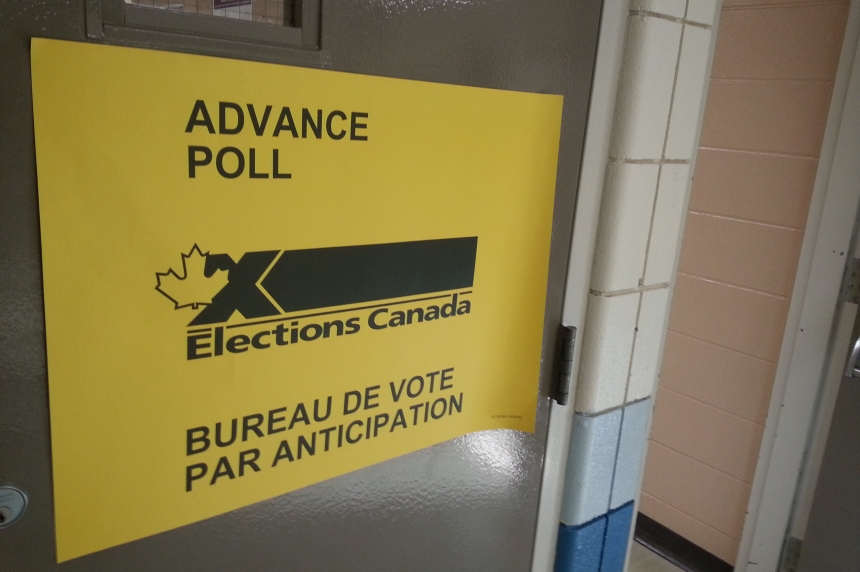 Advanced voting more than doubles in Saskatchewan and  across Canada