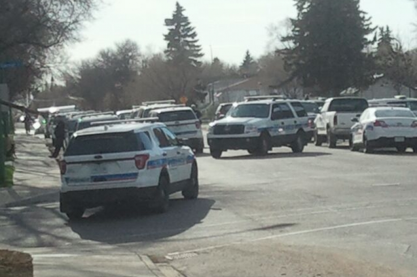 Regina police execute warrant at Lakeview home