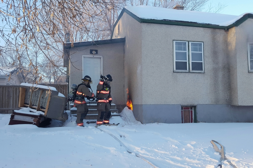 Crews handle fire at Westmount home