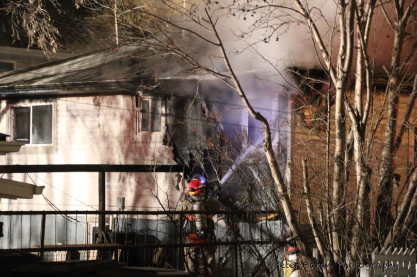 Fire at a 20th Street home causes major damage