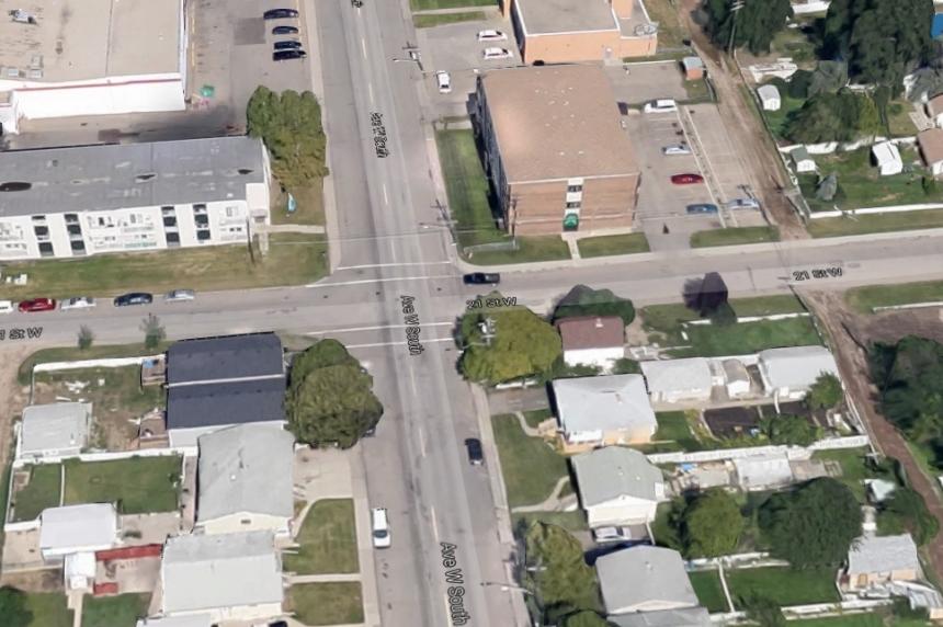 Police charge one man in Saskatoon collision