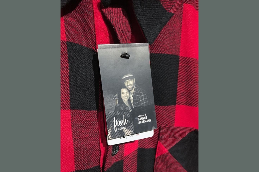 Regina clothing company remembers Tanner Kaufmann