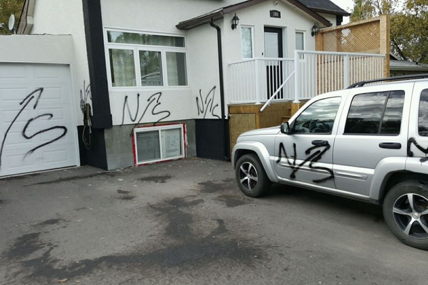 Balgonie man's home, vehicle targeted by vandals