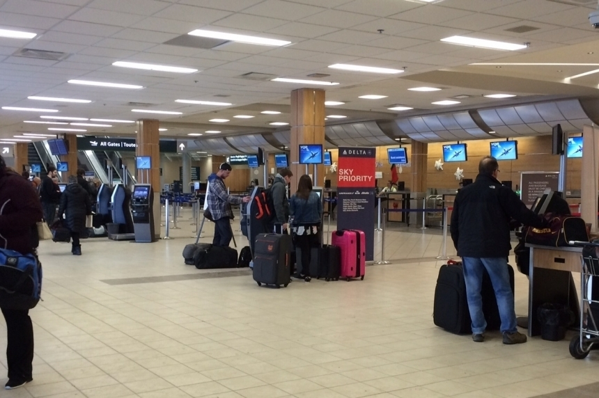 2016 a record year for passengers at Regina International Airport