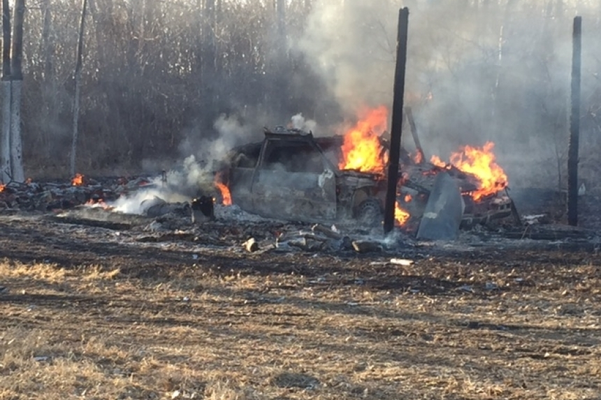 Arson suspected in 3 fires north of Regina