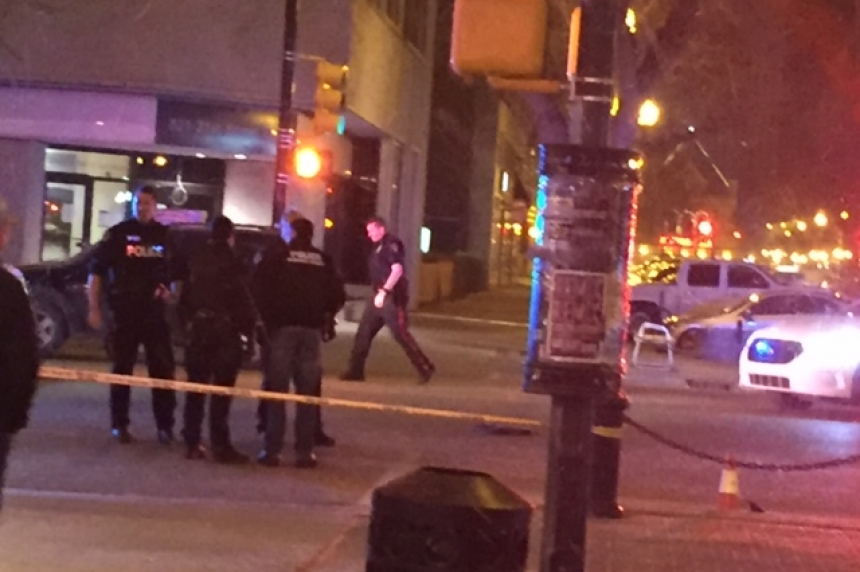 No charges after vehicle hits woman in downtown Saskatoon