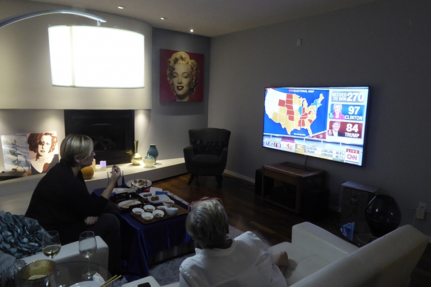 'I feel bad for the U.S.:' People in Regina watch as Donald Trump wins U.S. election