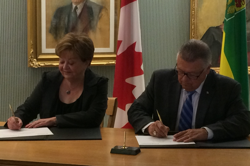Federal infrastructure money coming to Sask.