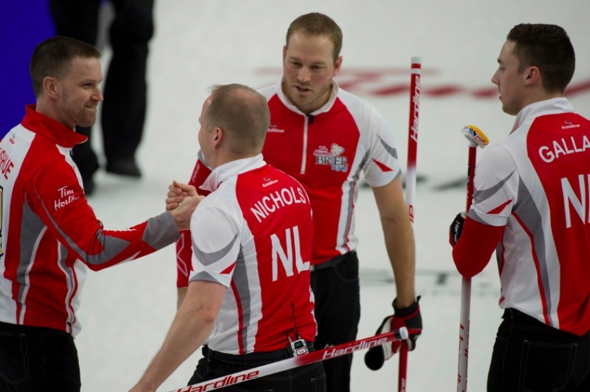 Hometown crowd erupts as Newfoundland and Labrador take Brier