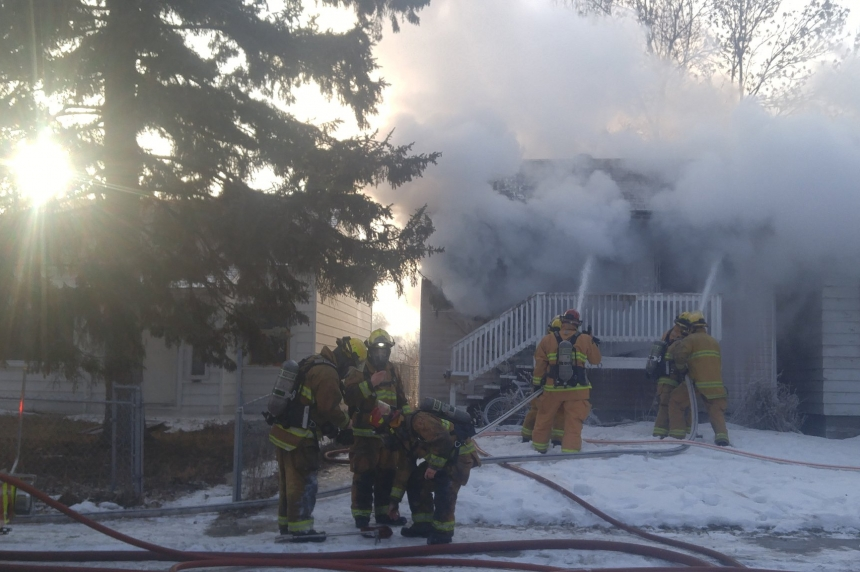 Unattended cooking the cause of a blaze at Regina home