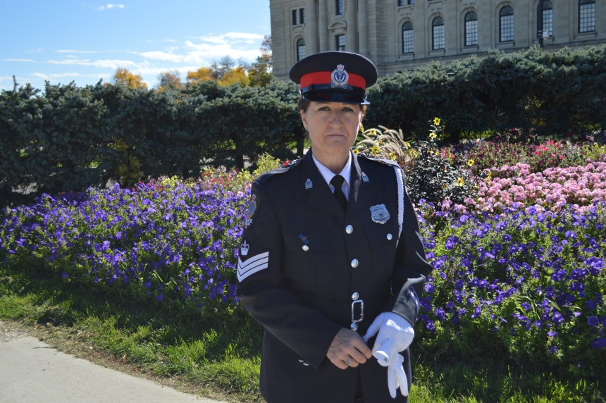 Legislative memorial remembers Saskatchewan's fallen officers