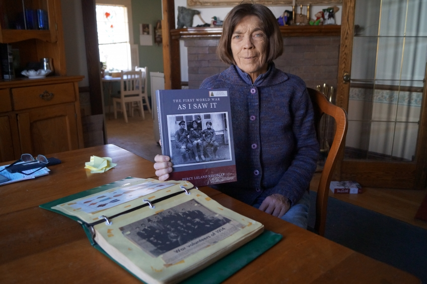 Woman reflects century after grandfather fought at Vimy