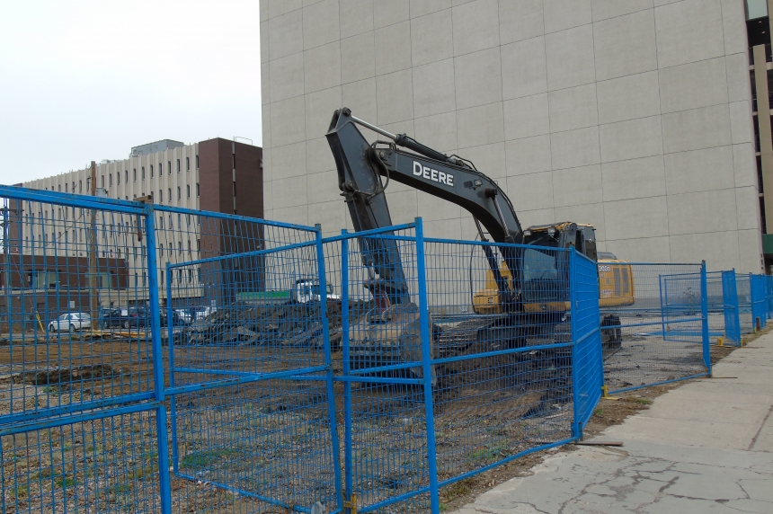 Work begins on Capital Pointe site