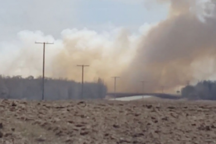 9 homes evacuated on Sask. First Nation due to grass fire