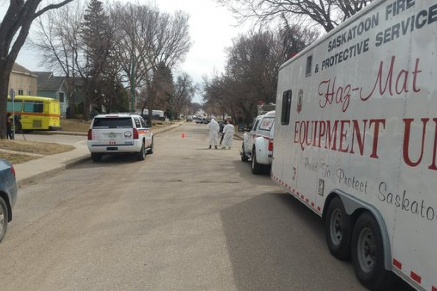 Saskatoon hazmat concerns a false alarm