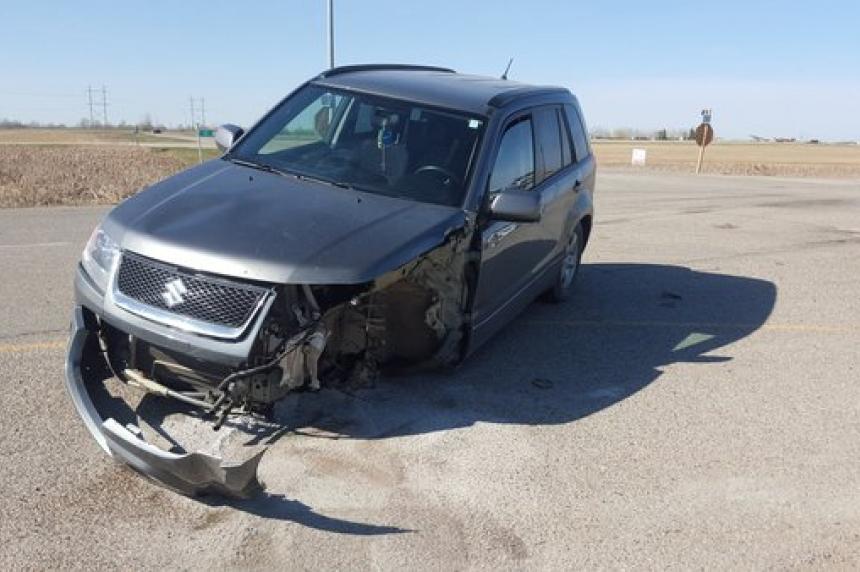 Crash at Hwy 11 and Wanuskewin Road leaves 2 hurt