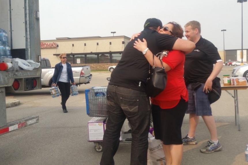 Food drive for Fort McMurray evacuees held in Saskatoon