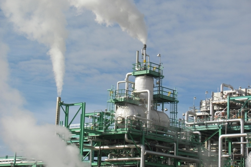 Co-op Refinery testing emergency alarms Wed.