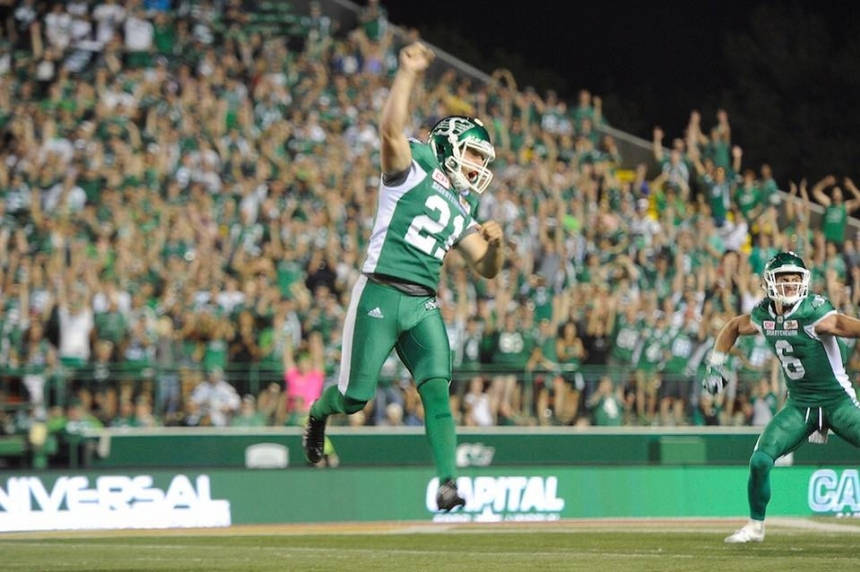 Riders' win against Redblacks draws almost 1 million viewers