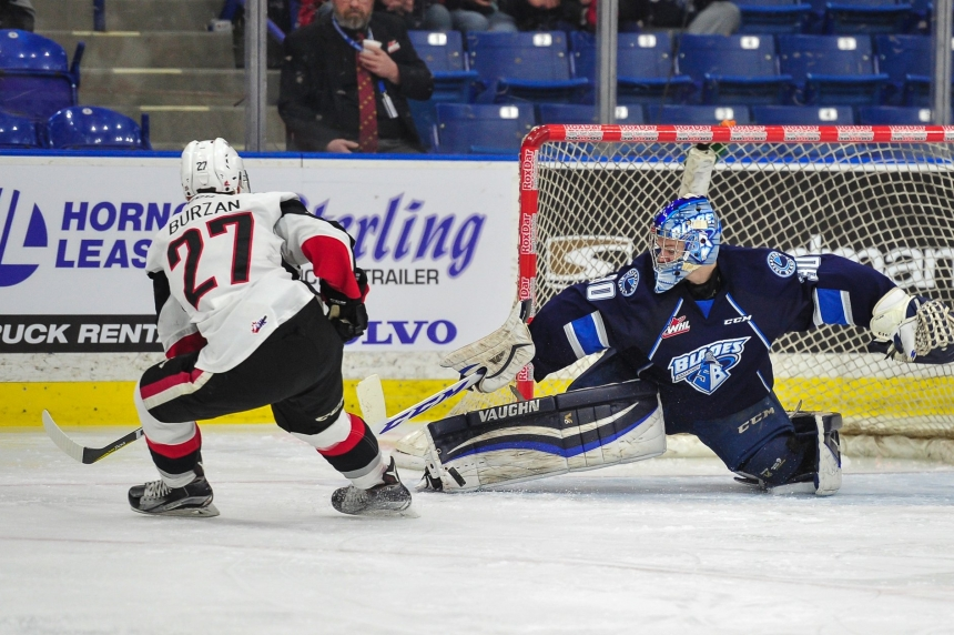 Blades grit out back to back wins