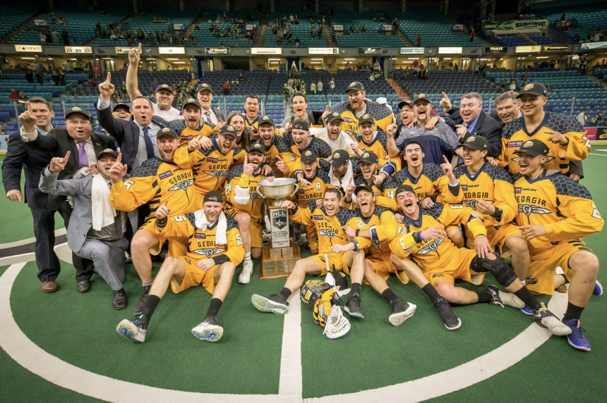 Georgia Swarm win Champion's Cup in Saskatoon