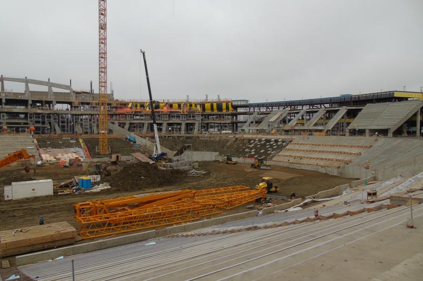 Regina stadium update highlights new seats, lighting and fabric roofing