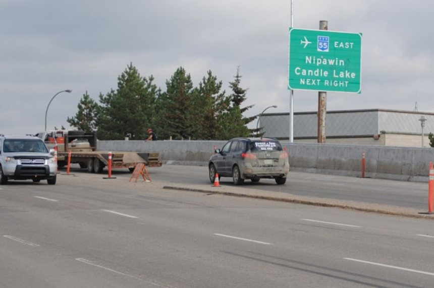 All lanes on Diefenbaker Bridge in P.A. open