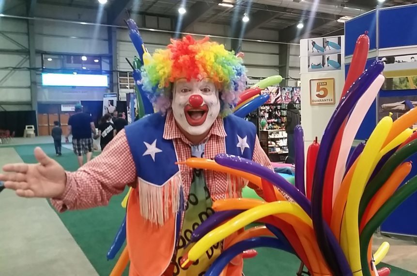 International clown makes second appearance at exhibition