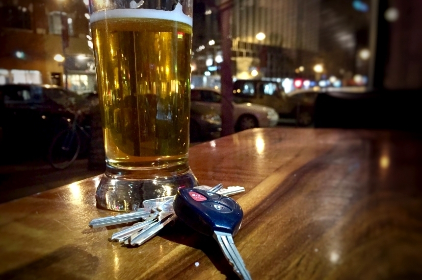 Police crack down on impaired driving during long weekend