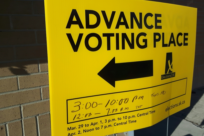 Advanced poll turnout much higher than 2011