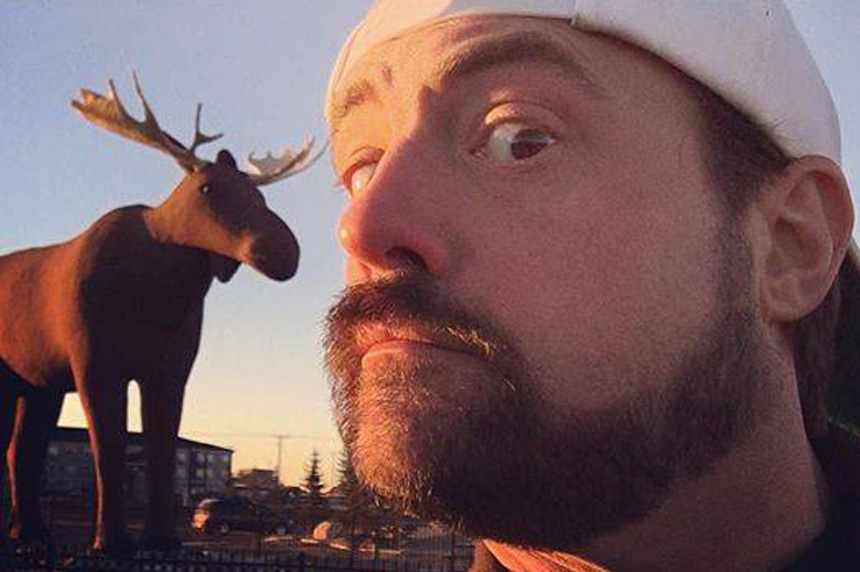 Kevin Smith files for grant to film movie in Saskatchewan