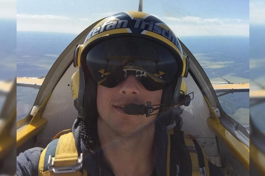Stunt pilot delights Prince Albert street fair