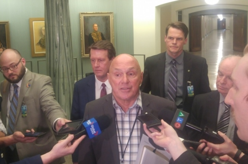 Province, mayors talk grants in lieu in Regina