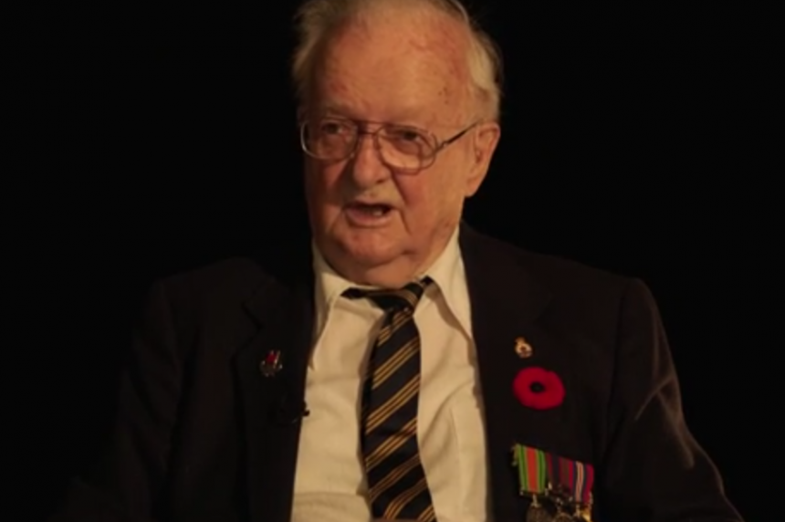 Sask. vet reflects on how he snuck his way into the Second World War