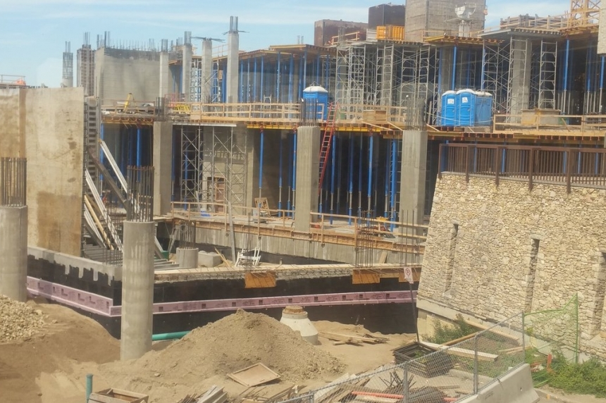 Construction to resume soon on Sask. children's hospital following worker's death