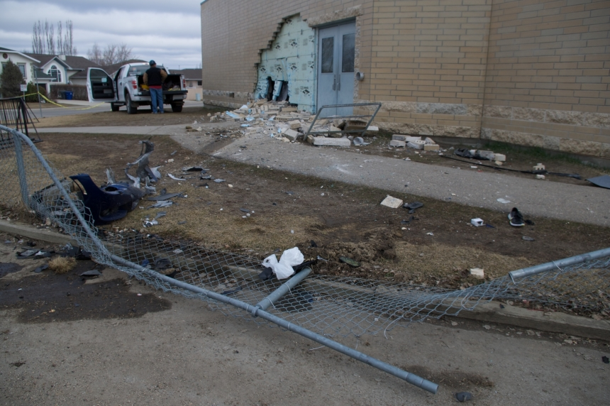 Alcohol believed to be factor in crash into Saskatoon elementary school