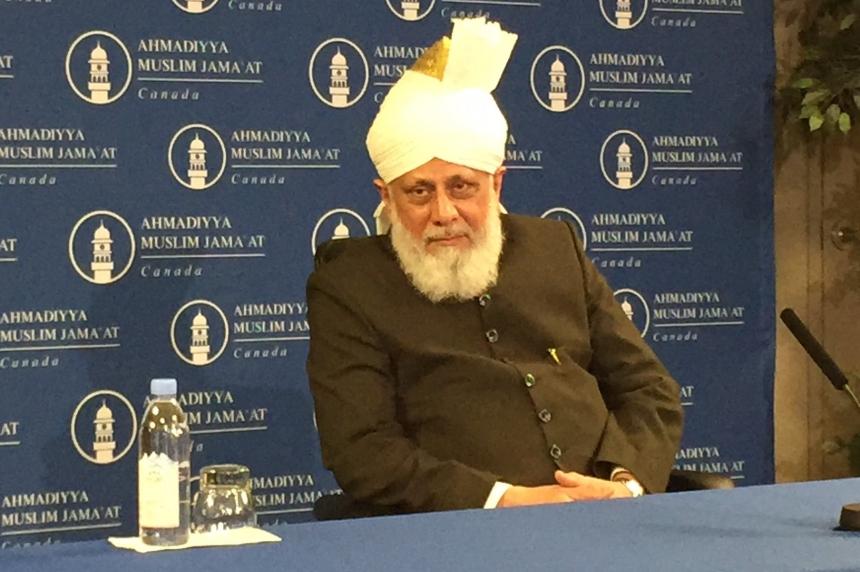 Ahmadiyaa Caliph shares message of 'true Islam' in Saskatoon