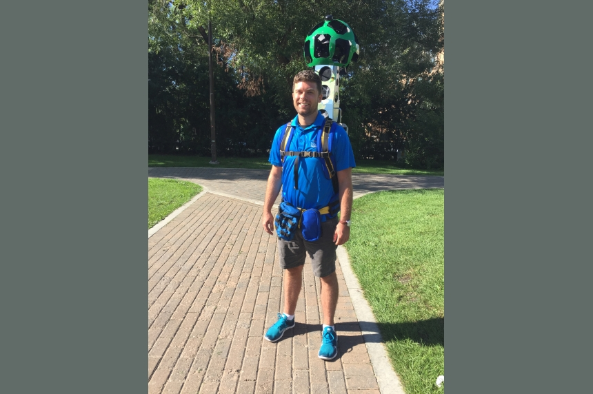 Google Trekker puts Saskatoon on the map in 3D