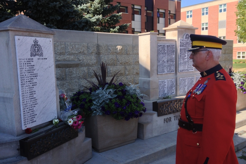 Annual RCMP service honours late constables
