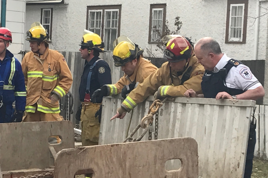 Regina employee falls 18 ft. while working on water line