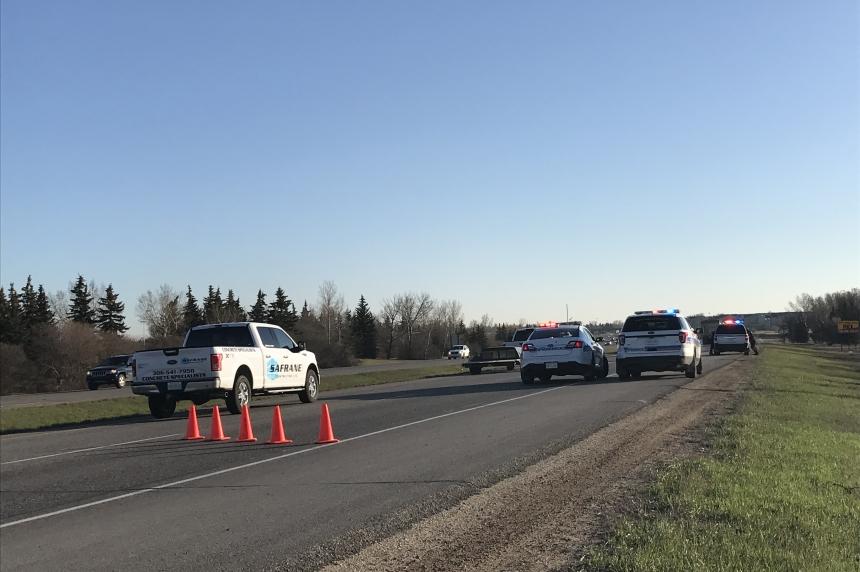 Police investigate body found in field near Ring Road