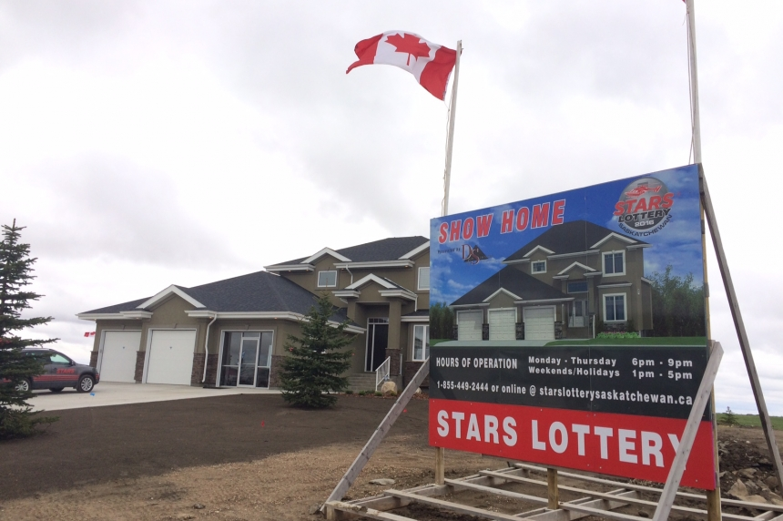 STARS Lottery Saskatchewan 46% sold as campaign launches from Pilot Butte show home