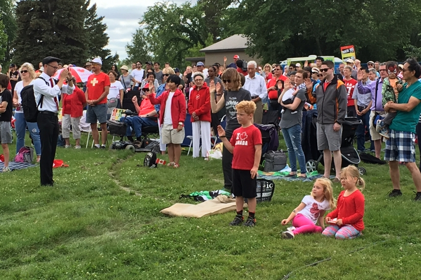 Diefenbaker Park packed for Canada Day celebrations