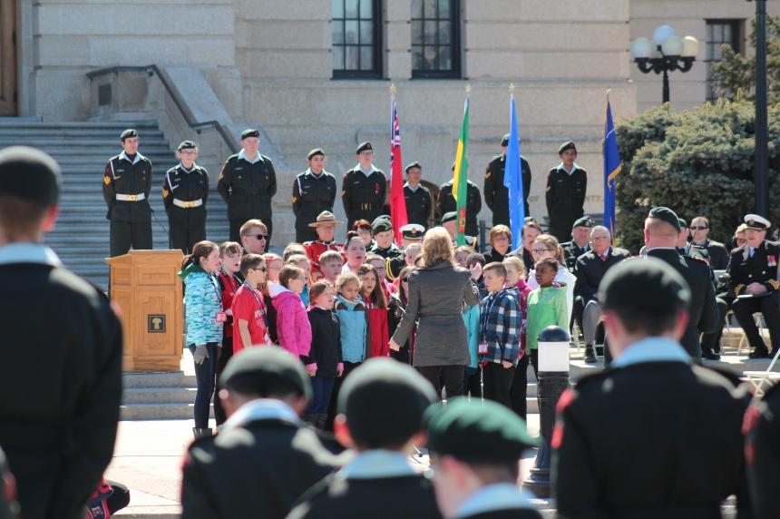 Vimy Ridge Battle commemorated in Regina a century later