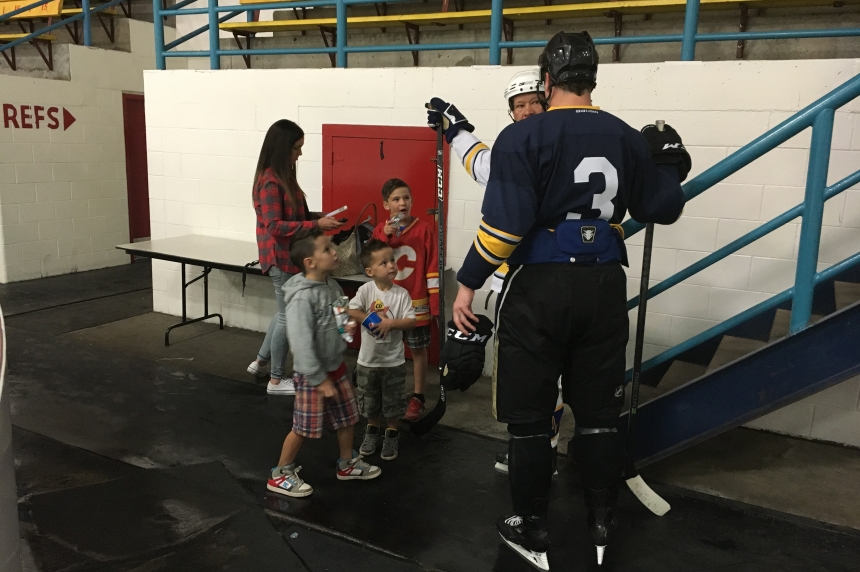 Hockey camp in support of mental health wraps up in Saskatoon