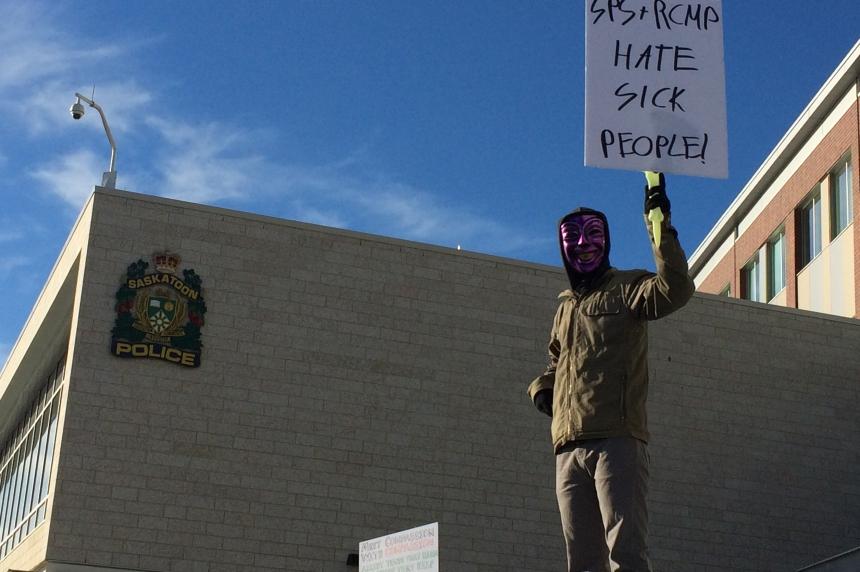 Medical cannabis users protest police raid on Saskatoon dispensary