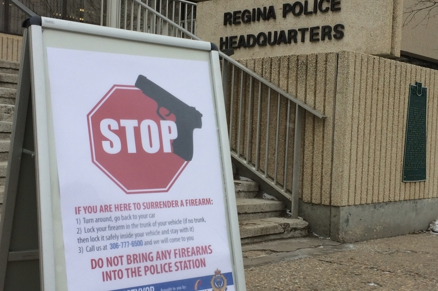 Positive outcome for gun amnesty program in Regina
