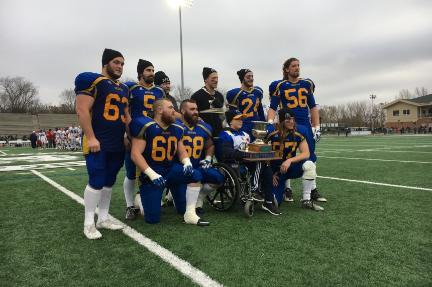 Saskatoon Hilltops win third straight Prairie Football Conference championship
