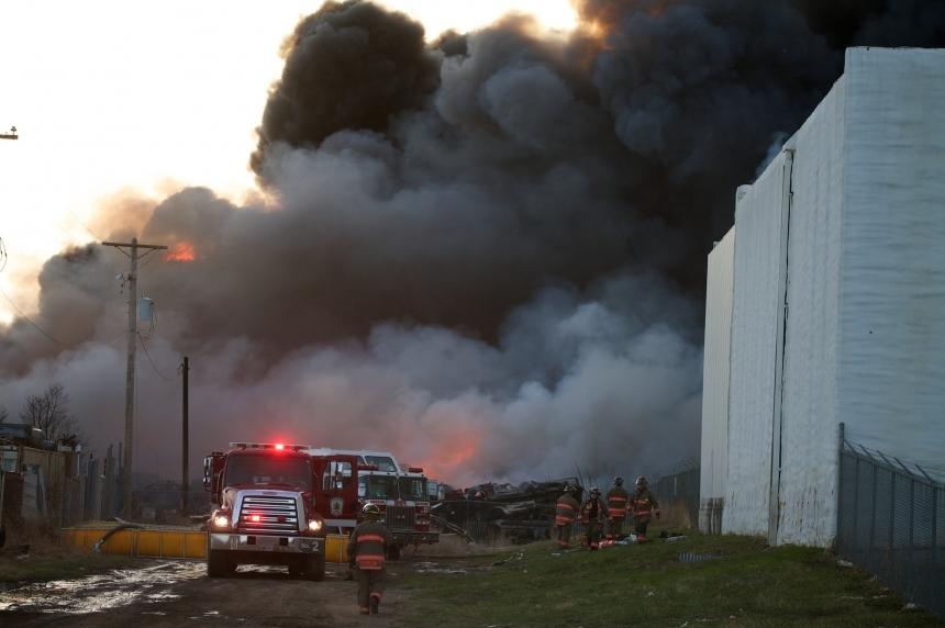 3 teens charged, 2 warned in Saskatoon salvage yard fire